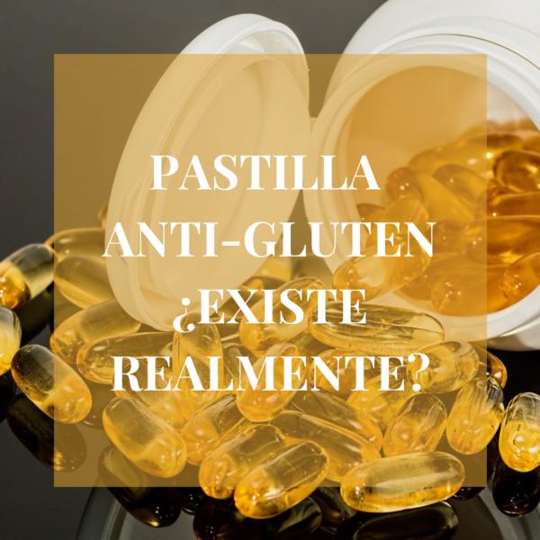 ¿Pastilla anti-gluten?