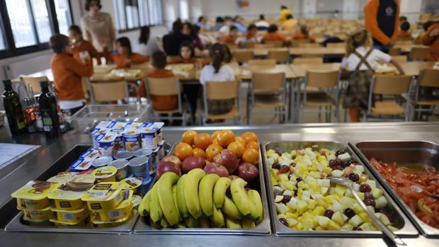 Comedor escolar. Celiapp.